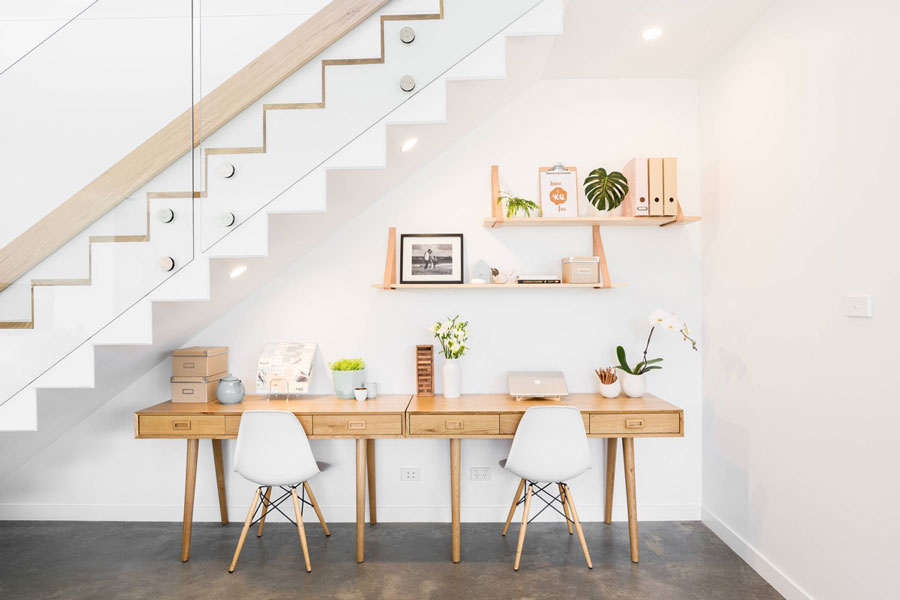Working from Home in a Contemporary Space