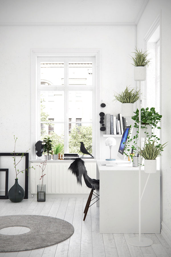 Nature Inspired Home Office