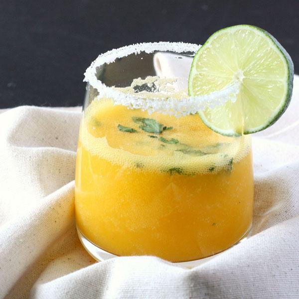 Simple Mocktail - The Mango Margarita via Food Fanatic