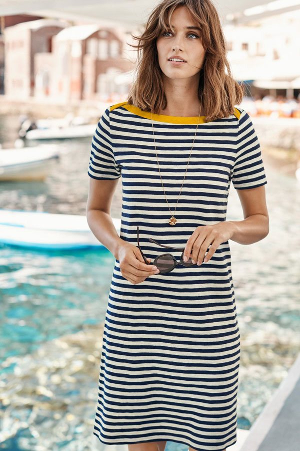 Classic Style for a T-Shirt Dress