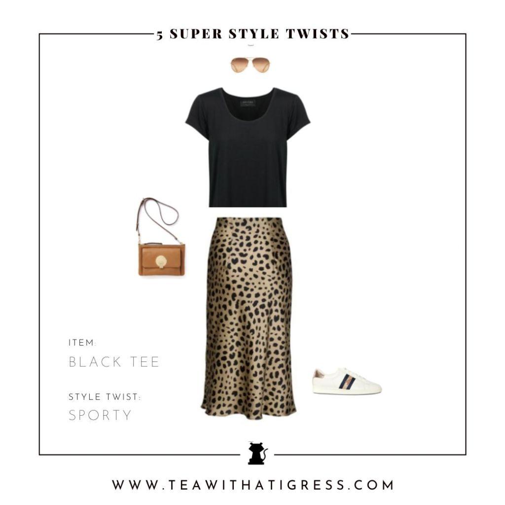 Sporty Style Twist