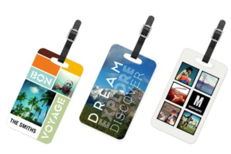 Custom Luggage Tags with Photographs