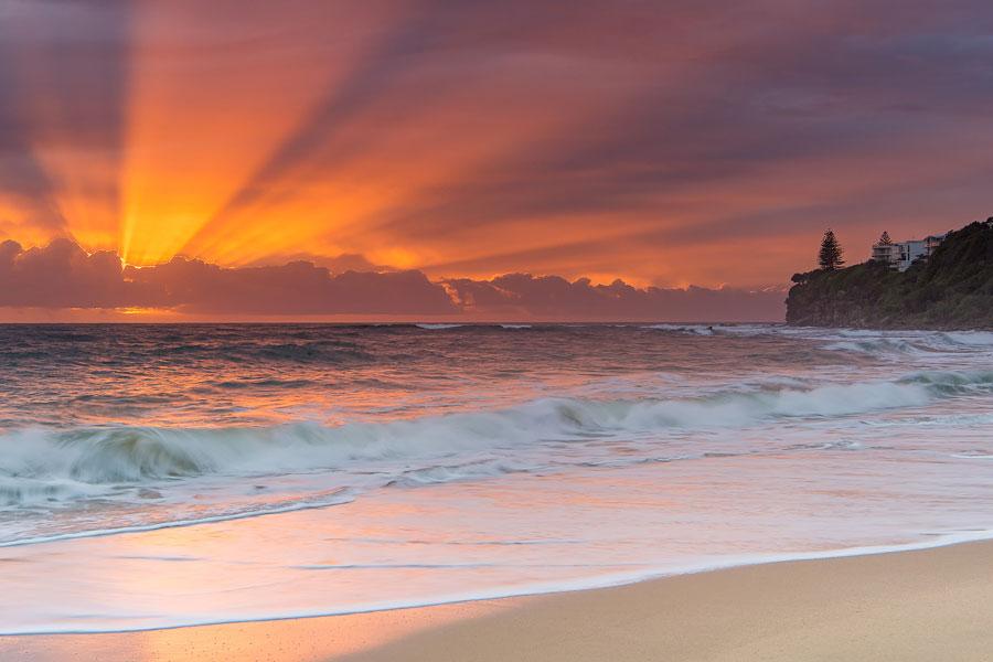 Holiday in Caloundra and Visit Moffat Beach