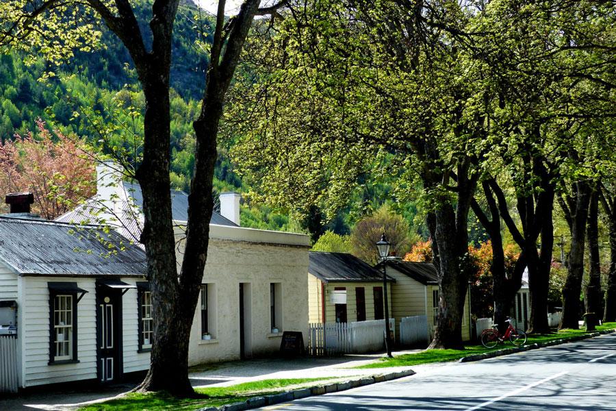 The Tree-Lined Main Street, Arrowtown