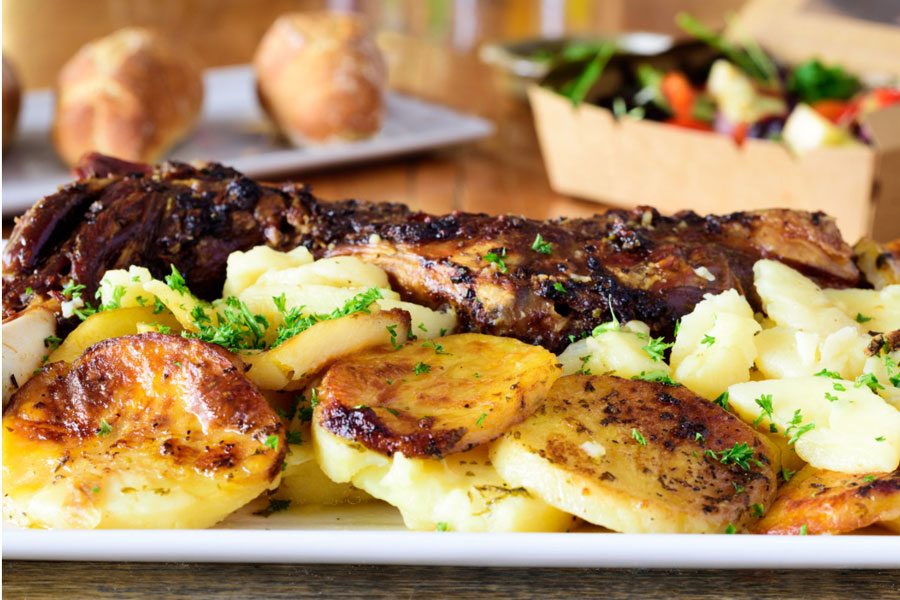 A Hearty Delivery from Pedro's House of Lamb