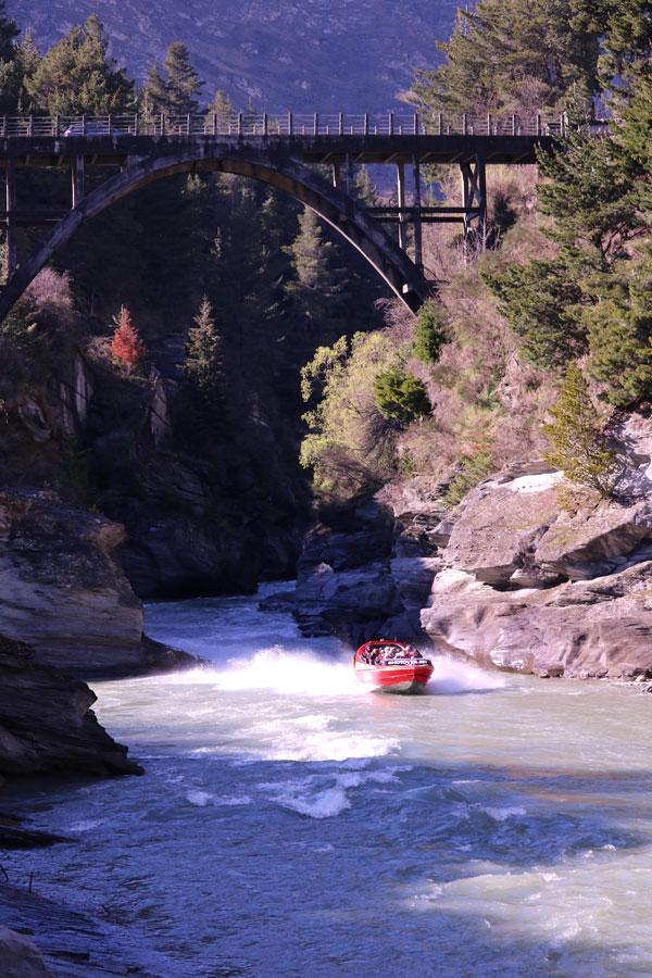 Jet Boating on the Shotover River