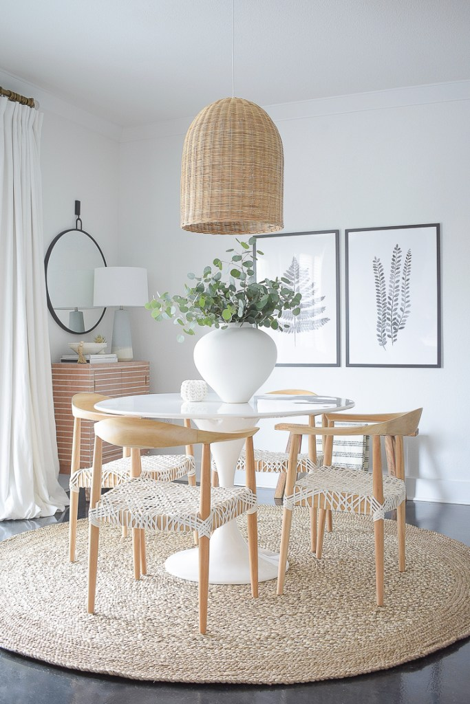 Modern Casual Dining Space