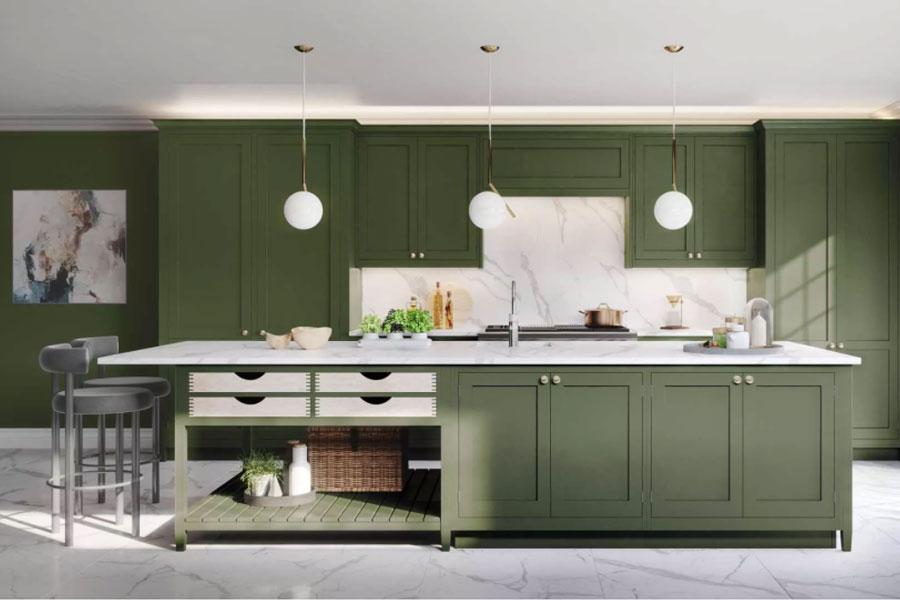 Sage Green Kitchen