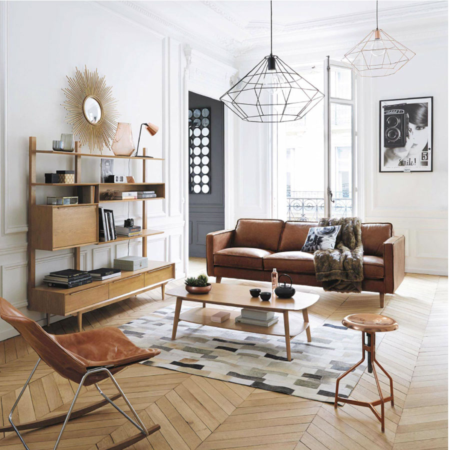 Relaxed Retro Living Space