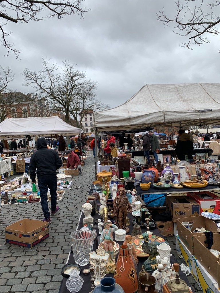 You can find almost anything at the flea market in Brussels