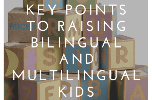5 key points to raining bilingual and multilingual kids