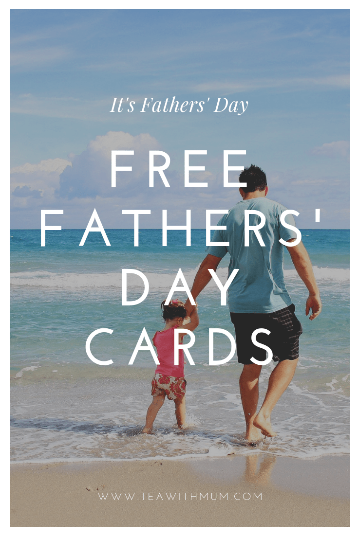 Free Fathers' Day cards title