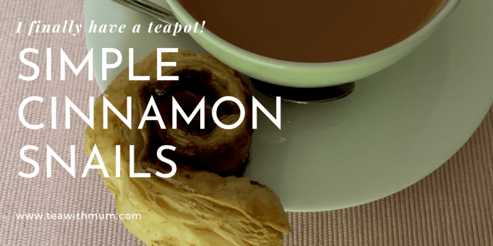 Cinnamon snails recipe banner.