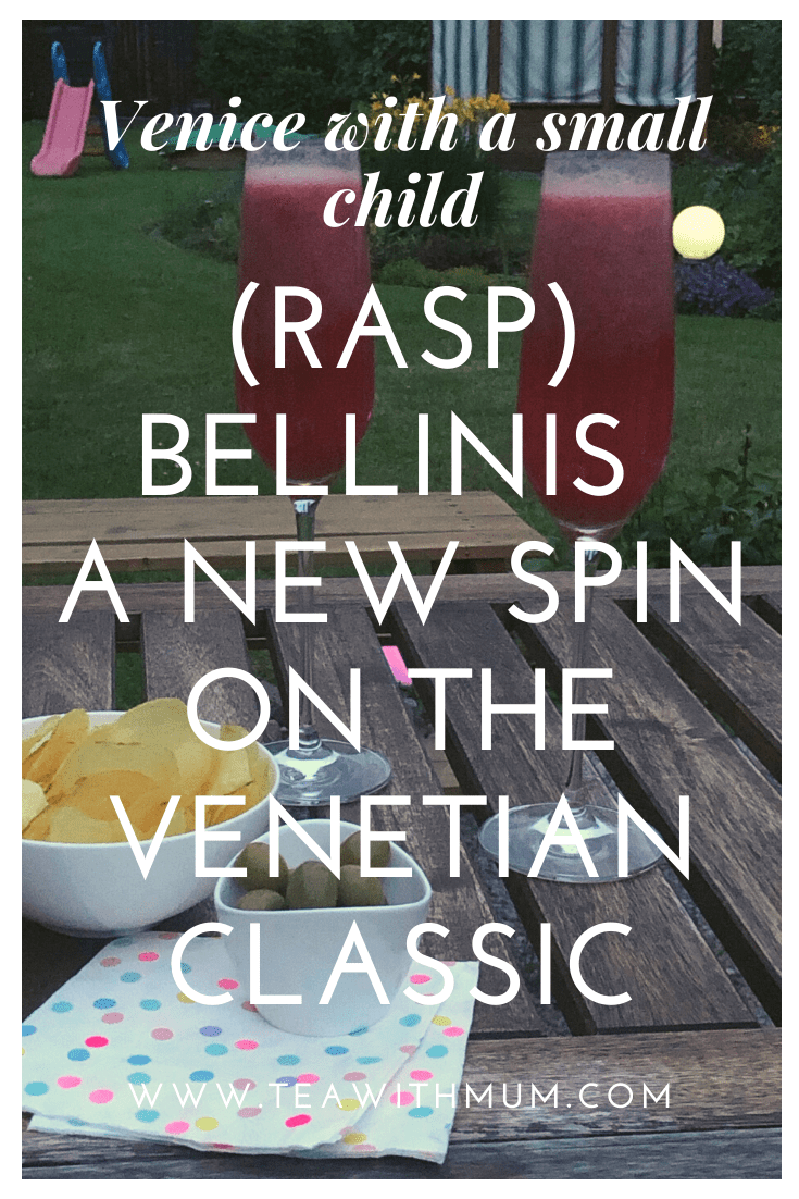 How to make raspbellinis: a new twist on the Venetian classic; a great way to remember your trip to Venice; serve for brunch or afternoon tea