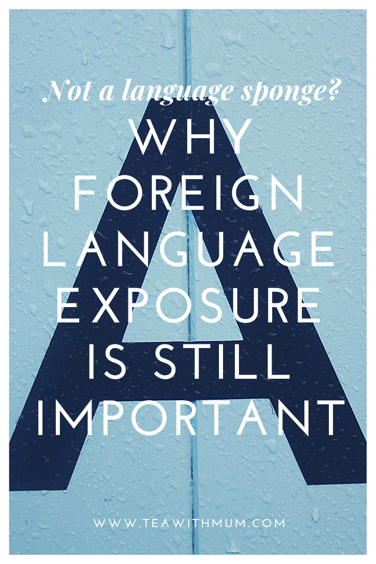 Not a language sponge? Why foreign language exposure is important