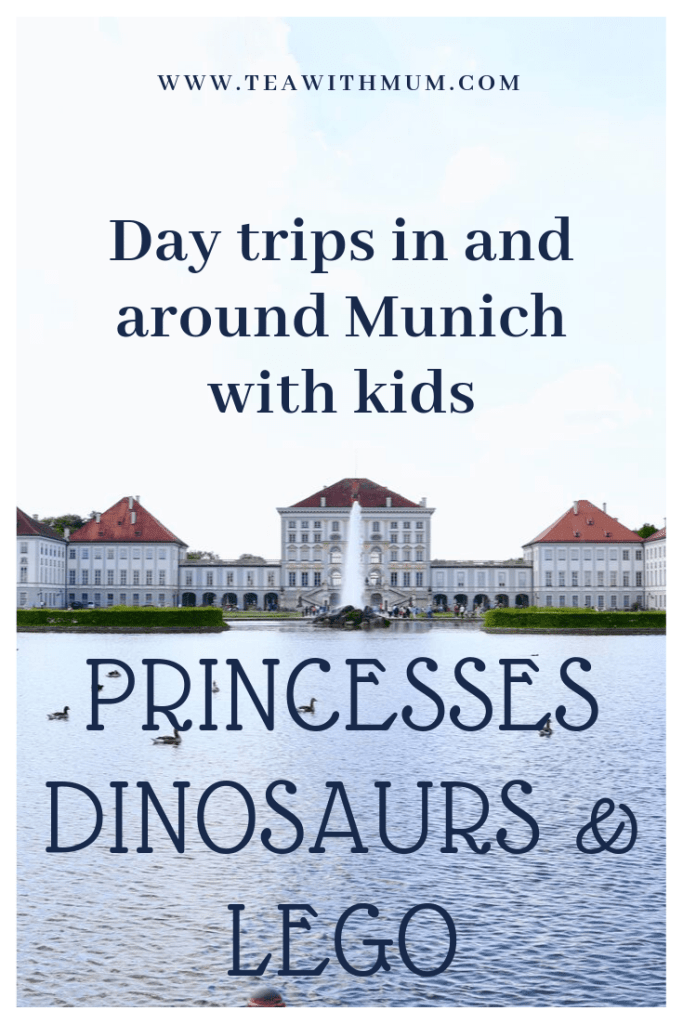 Castles, dinos and Lego: Day trips in and around Munich with kids. With image of Nymphenburg Palace (Photograph Sid Saxena on unsplash). What to do in and around Munich with kids.