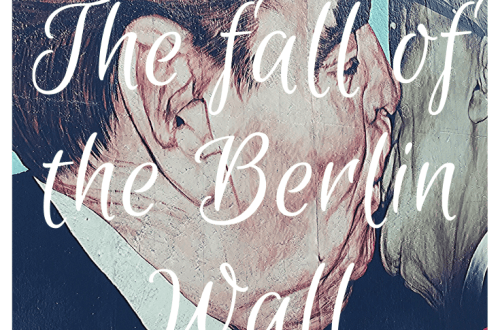The fall of the Berlin Wall; 30 year anniversary; Why was the wall built? Where was it? Where can you still see it? Image of 'The Kiss' from the East Side Gallery