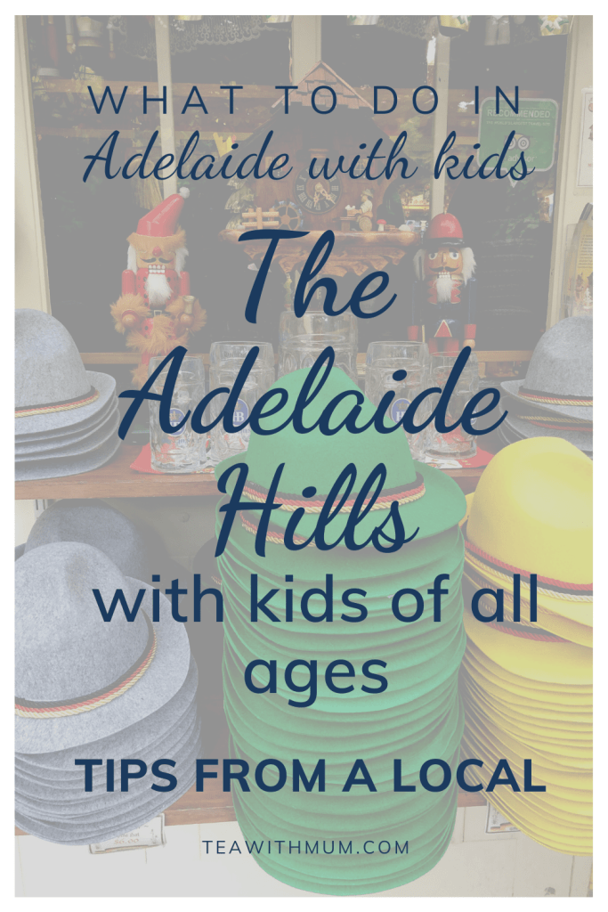 What to do in the Adelaide Hills with kids: Tips from a Local - visit Hahndorf and see some of the German kitsch, such as these German hats and cuckoo clocks