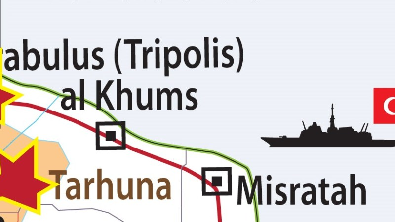Krieg in Libyen : Kriegshandlungen eskalieren