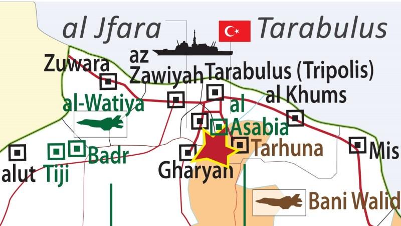 Krieg in Libyen : Ultimatum an General Haftars Einheiten in Tarhuna