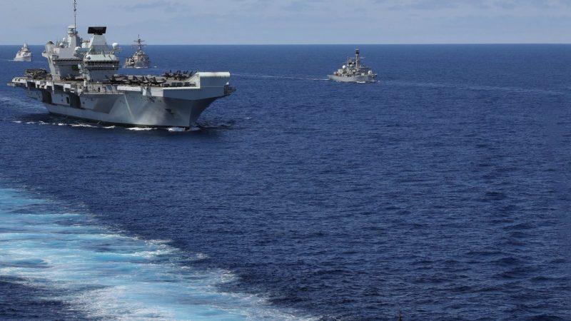 Carrier Strike Group 21 : Britain goes global