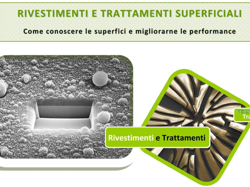 WORKSHOP su Rivestimenti e Trattamenti Superficiali