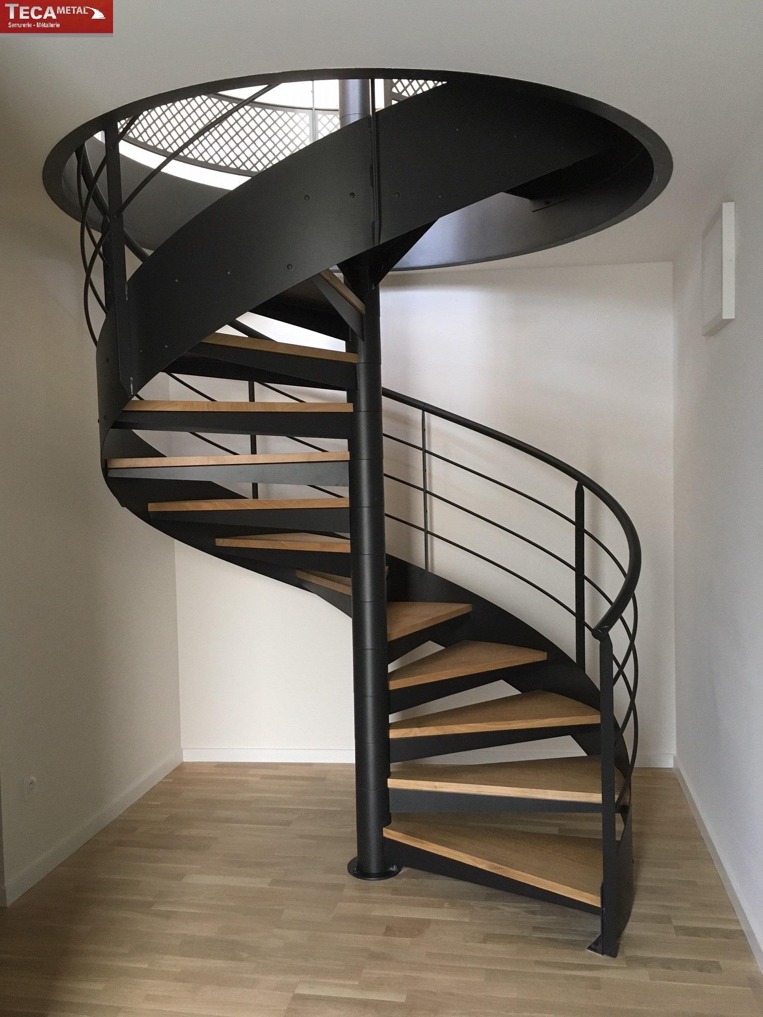 Escalier Hlicodal Modle Le Sublime TECAMETAL