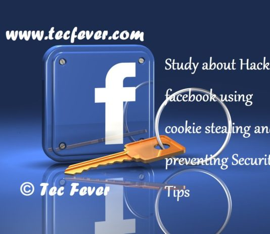 hack facebook using cookie stealing and preventing
