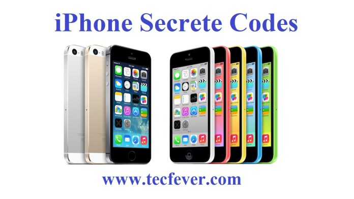 All iPhone Secrete Codes In Just One Click