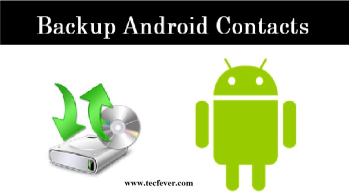 Backup Contacts In Android