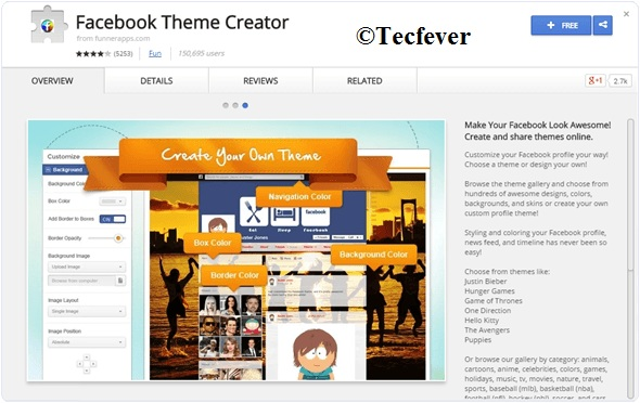 Change Facebook Theme Colour 2