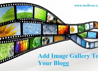 Add Image Gallery To Your Blog