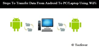Transfer Data From Android To Laptop Using WiFi