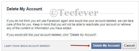 Delete Your Facebook Account Permenantly1