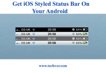 Get iOS Styled Status Bar On Your Android