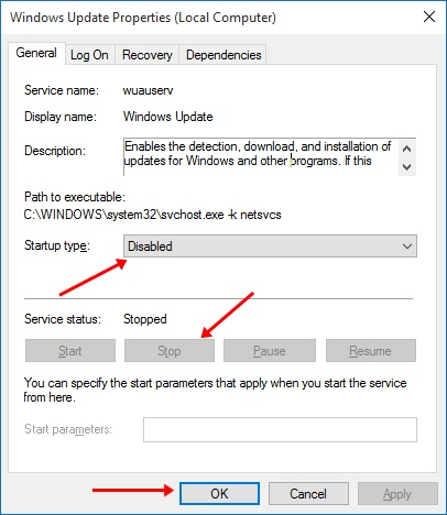 How To Disable Windows 10 Auto Update4