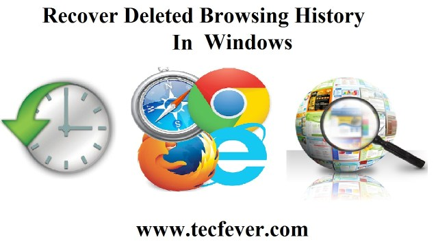Recover Deleted Browsing History In Windows