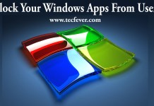 Block Your Windows Apps From Users