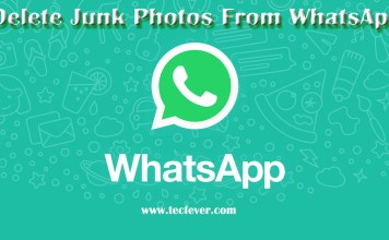 Delete Junk Photos From WhatsApp Automatically