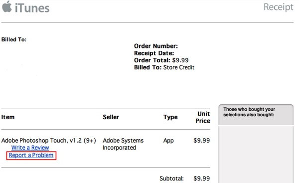 Get Money Back From Accidently Bought Apps In Apple2
