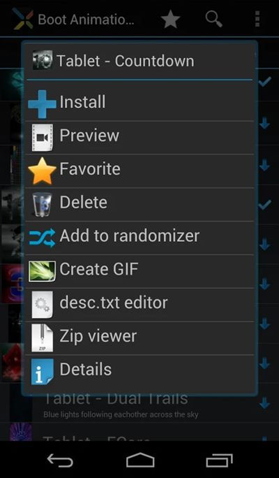 Install Android Boot Animation Of Your Choice3