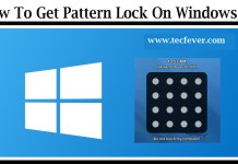 How To Get Pattern Lock On Windows PC
