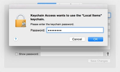 Recover Forgotten Password Of WiFi In MAC OS X4