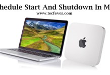 Schedule Start And Shutdown In MAC