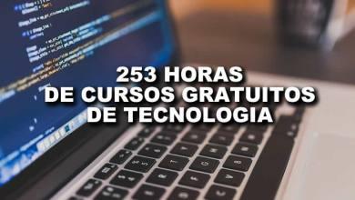 Photo of 253 horas de cursos grátis e com certificados para voce aprimorar seus conhecimentos em TI