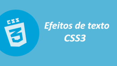 Photo of Efeitos de texto CSS3