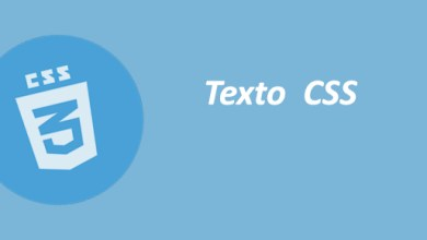 Photo of Texto CSS
