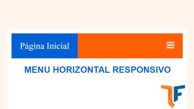 Photo of Como criar um menu horizontal responsivo
