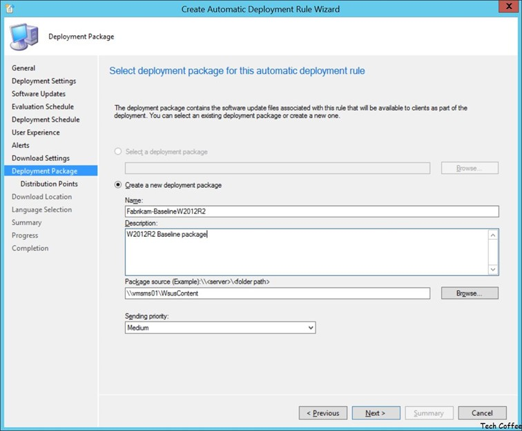 Software Update with SCCM PART 3 – Automatic Deployment Rules