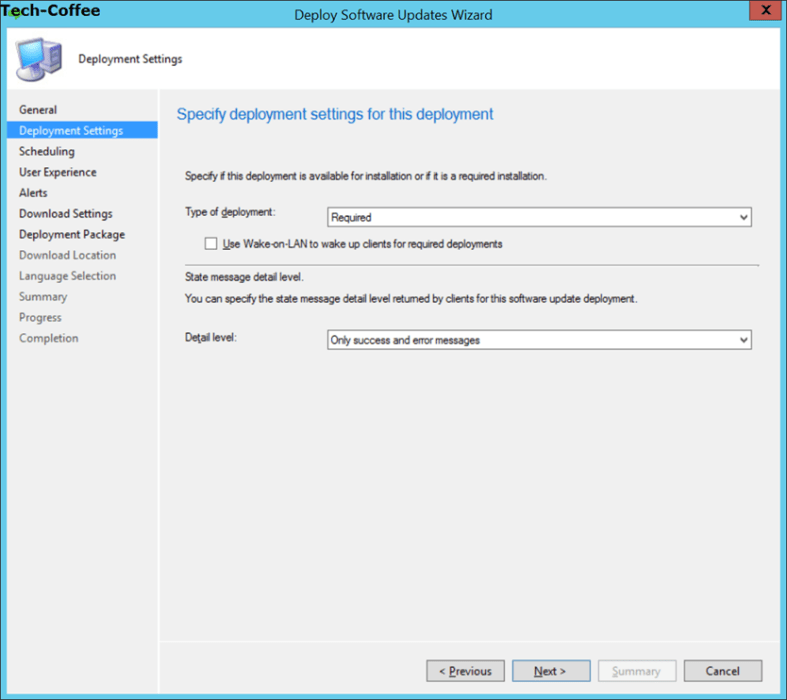 SCCM Software Update PART 4 – Create deployment packages
